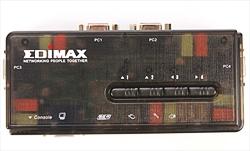 Edimax KVM USB SOHO Switch 4 kompiuteriams (kabelis komplekte) Paveikslėlis 3 iš 3 250257501447