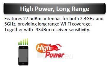 Edimax Long Range AC1750 802.11ac 3x3 Dual band wall mount PoE AP, 2x LAN Gbit Paveikslėlis 5 iš 11 250257100331