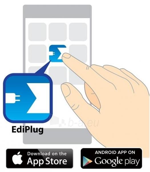 Edimax Wireless Remote Control Smart Plug Switch Paveikslėlis 3 iš 8 250257600889