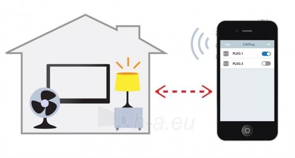 Edimax Wireless Remote Control Smart Plug Switch Paveikslėlis 5 iš 8 250257600889