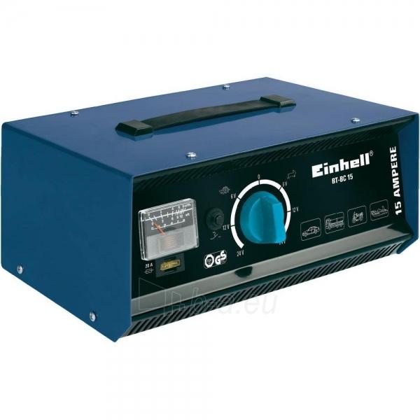Einhell BT-BC 15 Battery Charger Paveikslėlis 1 iš 2 250333000093