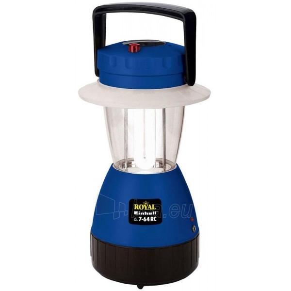 Einhell CL 7-64 RC akumuliatorinis turistinis šviestuvas su pulteliu Paveikslėlis 1 iš 1 30043300114