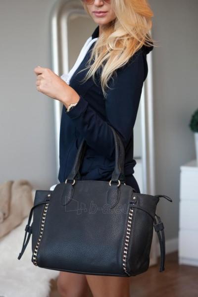 Eko-odos bag Sheila (juodos color) Paveikslėlis 1 iš 7 310820032754