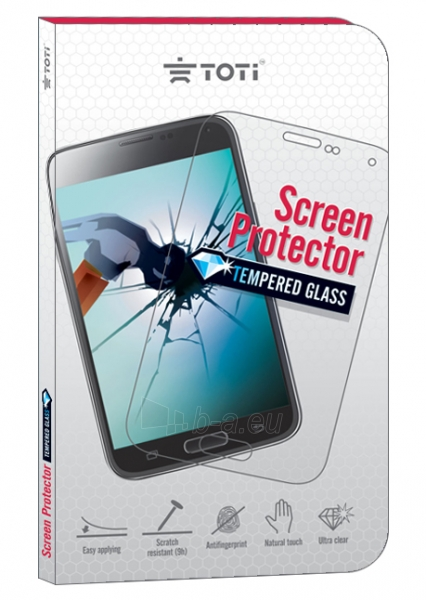 Toti TEMPERED ScreenGlass Protector for HuaweiP8 Paveikslėlis 1 iš 1 250232002885