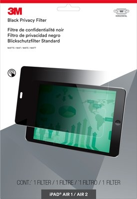 Ekrano filtras 3M Privacy Filter for iPad Air 1/Air 2 Paveikslėlis 1 iš 1 310820047088