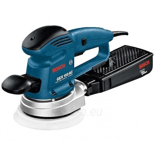 Ekscentrinis šlifuoklis Bosch GEX 150 AC Paveikslėlis 2 iš 2 300431000088