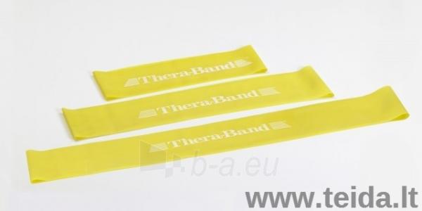 Elastinės juostos kilpa Thera-band, geltona Paveikslėlis 1 iš 1 310820218399