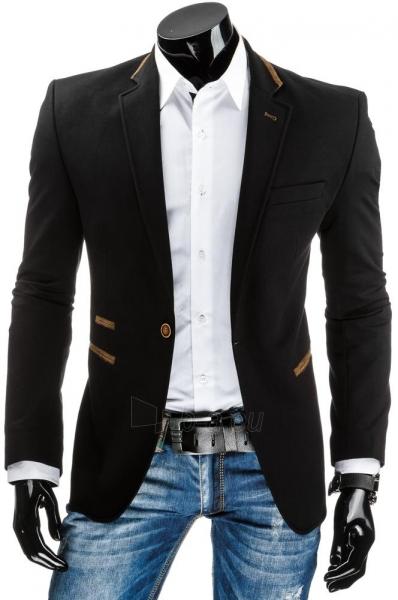Elegantiškas vyriškas švarkas Balance (Juodas) Paveikslėlis 1 iš 6 310820033392