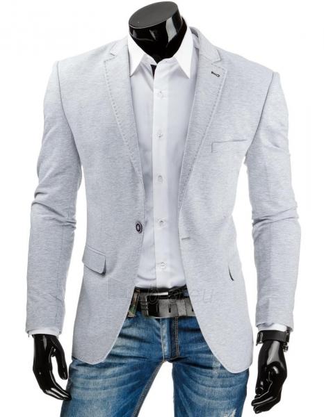 Elegantiškas vyriškas švarkas Canby (Pilkas) Paveikslėlis 1 iš 6 310820043490