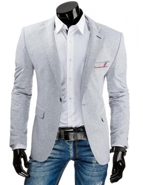 Elegantiškas vyriškas švarkas Monroe (Pilkas) Paveikslėlis 1 iš 6 310820033391