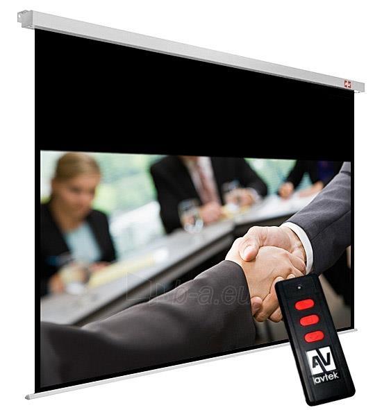 Elektr. projekcinis ekranas Avtek Business Electric 240 (235 x 146,8 cm) 16:10 Paveikslėlis 1 iš 4 250224001192