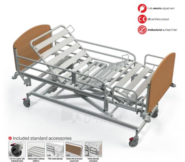 Elektrinė funkcinė slaugos lova FBE-N Paveikslėlis 1 iš 2 310820205675