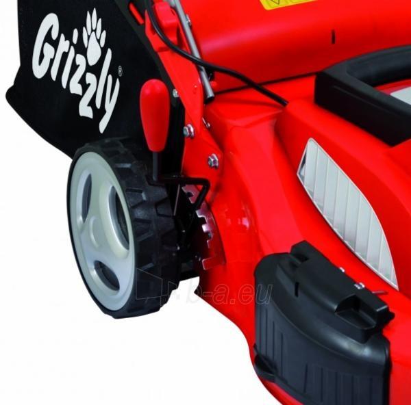 Elektriskā pašgājējas zāles pļāvējs 1800W Grizzly ERM 1846 GTA EK9 Paveikslėlis 2 iš 5 268901000817