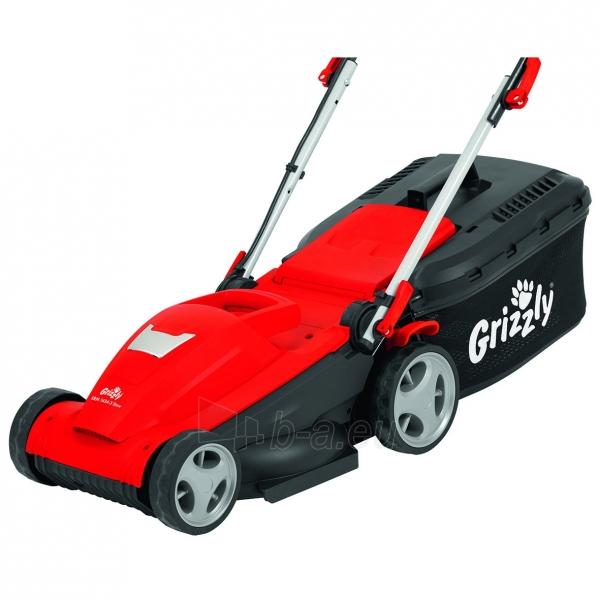 Elektrinė vejapjovė 1400W Grizzly ERM 1434-3 Paveikslėlis 3 iš 7 310820156266
