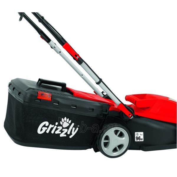 Elektrinė vejapjovė 1400W Grizzly ERM 1434-3 Paveikslėlis 6 iš 7 310820156266