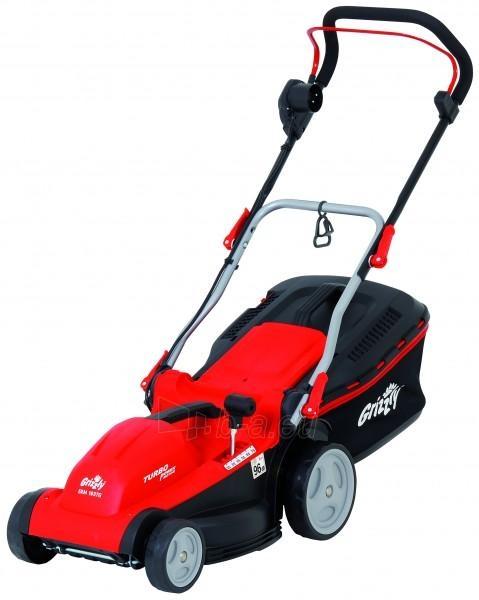Electric lawn mower 1600W Grizzly ERM 1637 G, EK9 Paveikslėlis 1 iš 3 268901000566