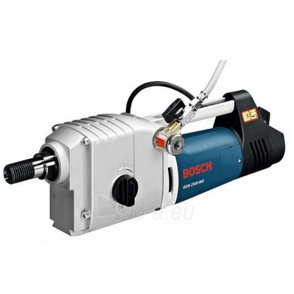 Electric diamond drill Bosch GDB 2500 WE Paveikslėlis 1 iš 3 300422000054
