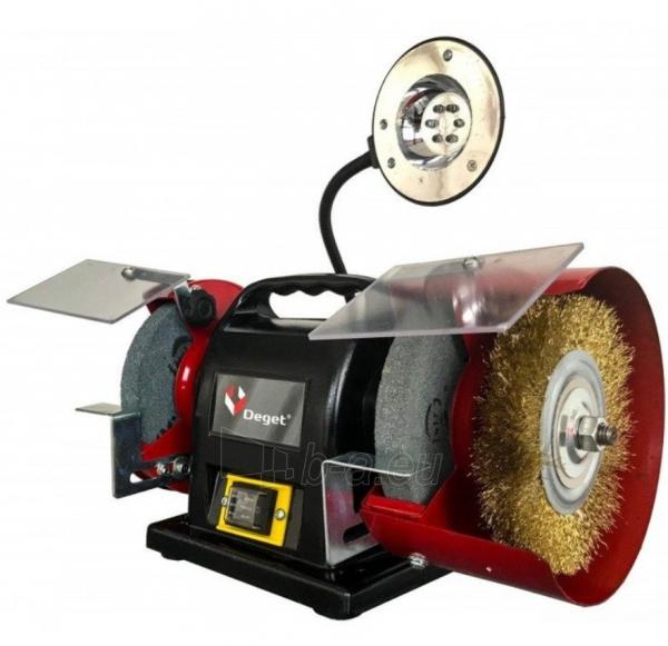 Elektrinis galąstuvas DEGET BG815, 350W, 150mm Paveikslėlis 1 iš 2 310820241699