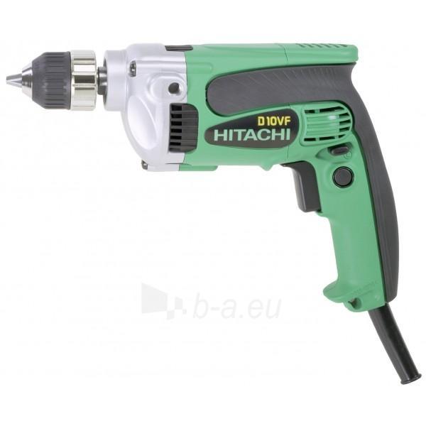 Elektrinis gręžtuvas Hitachi D10VF Paveikslėlis 1 iš 1 300422000140