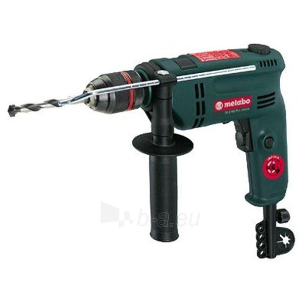 Electic drill METABO SBE600 R+L Impuls Paveikslėlis 1 iš 1 300422000174