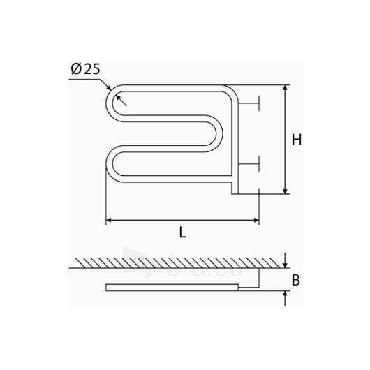 Elektrinis gyvatukas Elonika EE 370 SLMP Paveikslėlis 1 iš 5 270652000069