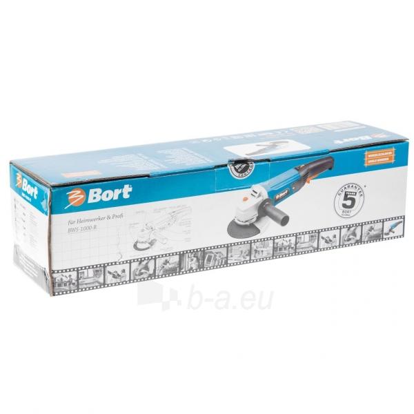 Elektrinis kampinis šlifuoklis, reguliuojamomis apsukomis BORT BWS-1000R Paveikslėlis 4 iš 4 310820193629