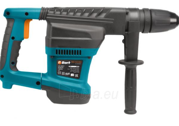 Elektrinis perforatorius BORT BHD-1500-MAX, 9J Paveikslėlis 6 iš 10 310820241675