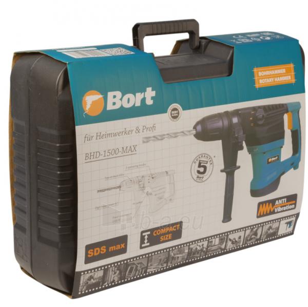 Elektrinis perforatorius BORT BHD-1500-MAX, 9J Paveikslėlis 2 iš 10 310820241675