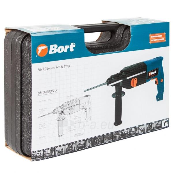 Elektrinis perforatorius BORT BHD-800N-K Paveikslėlis 4 iš 4 310820193631
