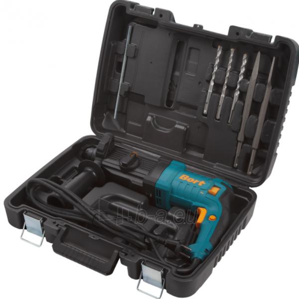 Elektrinis perforatorius BORT BHD-800X2, 3,5J Paveikslėlis 8 iš 8 310820241674