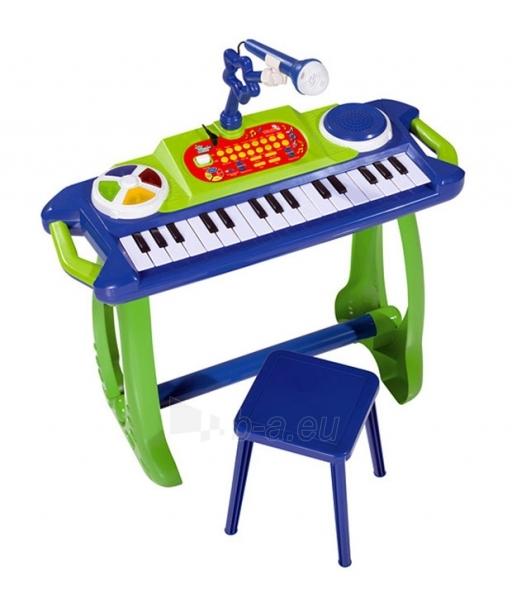Elektrinis pianinas su mikrofonu Paveikslėlis 1 iš 3 250710500095