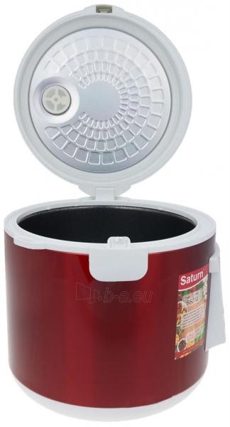 Elektrinis puodas Multicooker Saturn ST-MC9208 red Paveikslėlis 8 iš 10 310820162753