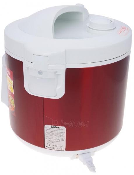 Elektrinis puodas Multicooker Saturn ST-MC9208 red Paveikslėlis 6 iš 10 310820162753