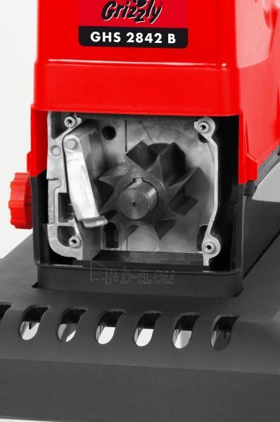 Elektrinis šakų smulkintuvas 2800W Grizzly GHS 2842 B Silent Paveikslėlis 6 iš 8 30006100133