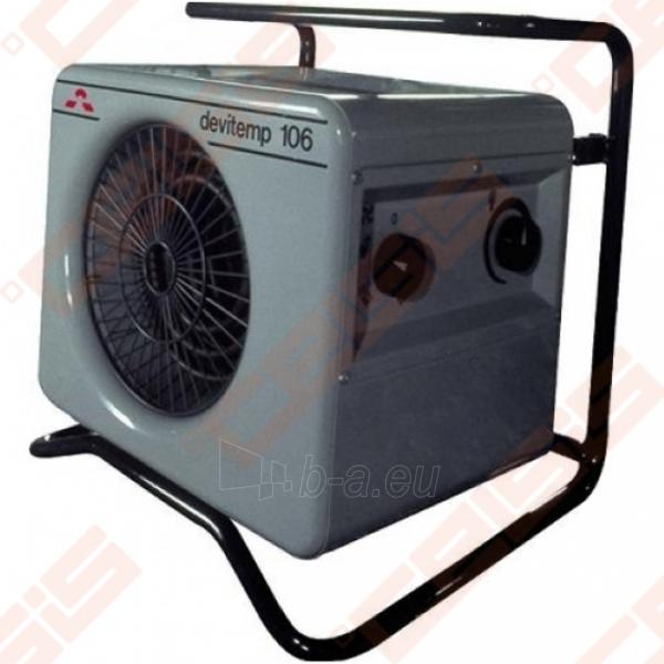 Elektrinis šildytuvas Devitemp 106T, 6kW, su laikmačiu Paveikslėlis 1 iš 1 270681000076