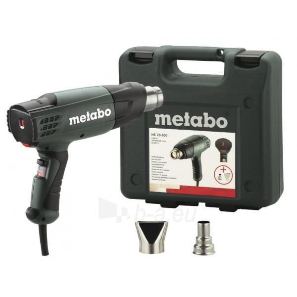 Electric heatgun METABO HE 20-600 Paveikslėlis 1 iš 1 300425000025