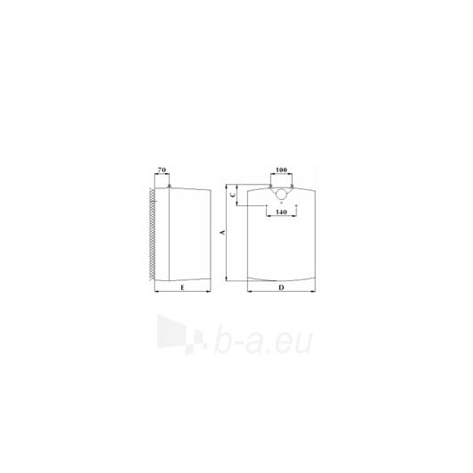 Elektrinis vandens šildytuvas Gorenje GT 15 U Paveikslėlis 2 iš 2 271410000276
