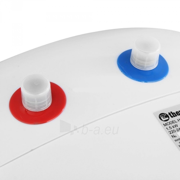 Elektrinis vandens šildytuvas Thermex H 10-O mažas, 1,5 kW Paveikslėlis 3 iš 5 310820253716