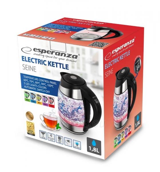 Electric kettle ESPERANZA EKK026 SEINE - Elektrinis Kettle 1,7L Paveikslėlis 6 iš 6 310820174203
