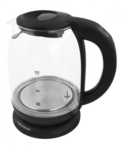 Electric kettle ESPERANZA EKK027 LOIRE - Elektrinis Kettle 1,7L Paveikslėlis 4 iš 6 310820174204