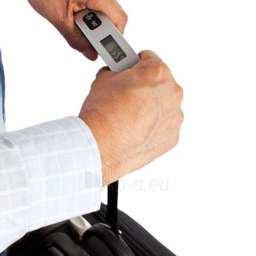 Elektroninės lagaminų svarstyklės Pilka Paveikslėlis 3 iš 3 250120700229