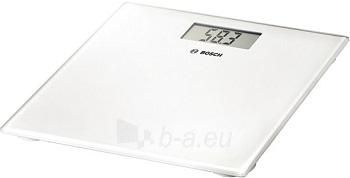 Elektroninės vonios svarstyklės Bosch PPW 3300, Baltos Paveikslėlis 1 iš 1 250120700250