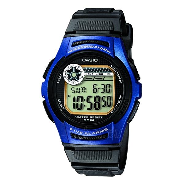 Elektroninis Casio laikrodis W-213-2AVES Paveikslėlis 1 iš 3 30069610915