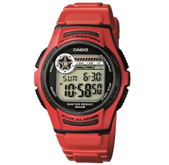 Elektroninis Casio laikrodis W-213-4AVES Paveikslėlis 1 iš 1 30069610939