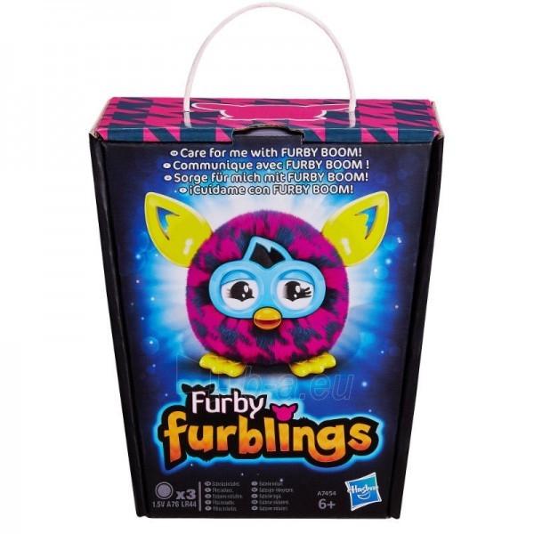Elektroninis pliušinis žaislas Furby Furblings BOOM honey A7454 / A6100 Paveikslėlis 1 iš 2 310820051656