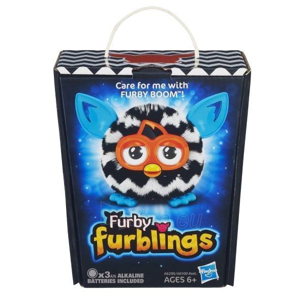 Elektroninis pliušinis žaislas Furby Furblings BOOM Zebra A6295 / A6100 Paveikslėlis 1 iš 2 310820051641