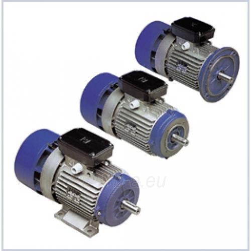 Elektros variklis su stabdžiu BA160MB6 7.5kW B3 Paveikslėlis 1 iš 1 222714000068