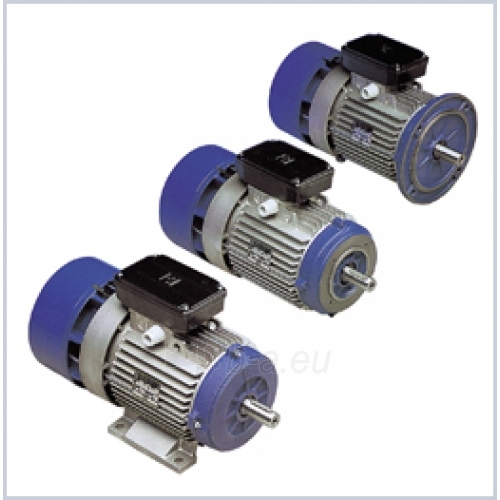 Elektros variklis su stabdžiu BA180LA4 18.5kW B3 Paveikslėlis 1 iš 1 222714000039