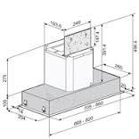 ELITAIR CT Style 60 INOX gartraukis Paveikslėlis 1 iš 1 310820028979