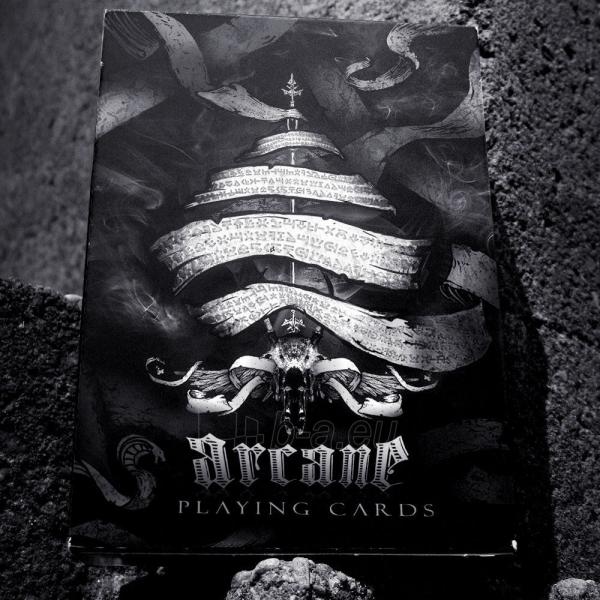 Ellusionist Arcane Black Bicycle kortos Paveikslėlis 2 iš 13 251010000261